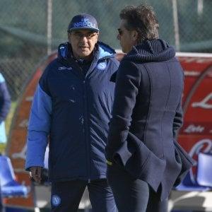 """Napoli, Sarri: """"Mi fido del City. Insigne fuori? Non mi lamento"""""""