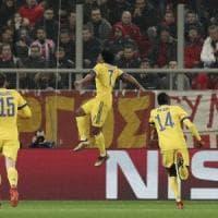 Olympiacos-Juventus 0-2, bianconeri agli ottavi con Cuadrado e Bernardeschi