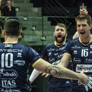 Volley, Champions: Trento parte bene, Maaseik ko