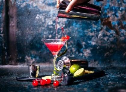 Rosso Natale, per le feste diventa il colore dei cocktail