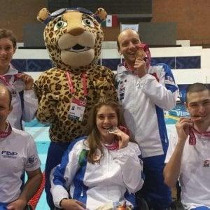 Nuoto paralimpico, Mondiali: ancora pioggia di medaglie per gli azzurri