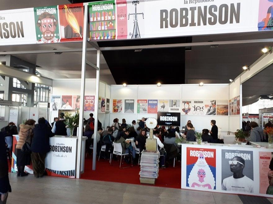 Arena Robinson: si comincia