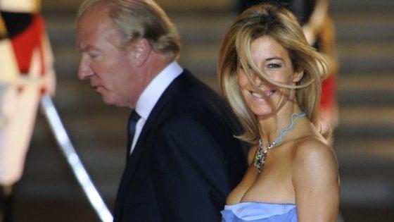 Valérie Hortefeux con il marito Brice Hortefeux, ministro dell'Interno del governo Sarkozy
