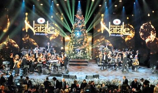 Annie Lennox al Concerto di Natale in Vaticano