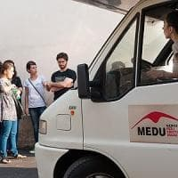 Baobab è diventato un presidio mobile per migranti in transito gestito