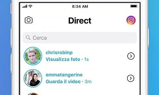 Instagram raddoppia e in Italia sperimenta la chat Direct per giovani e giovanissimi