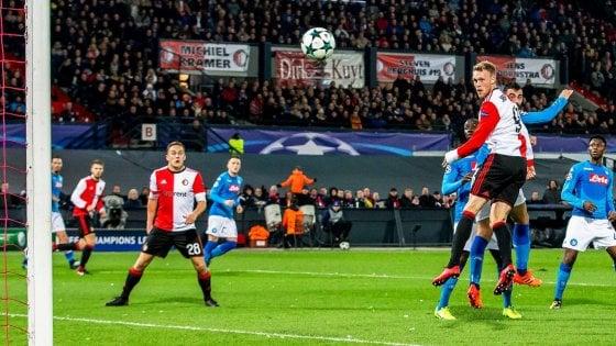 Feyenoord-Napoli, pagelle azzurre: Diawara arrugginito