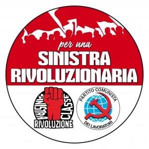 """Comunisti in lista """"per una Sinistra rivoluzionaria"""""""