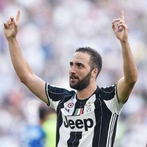 """Juventus, Higuain: """"Con l'Inter partita durissima. Icardi? Non è solo sfida tra noi 2"""""""