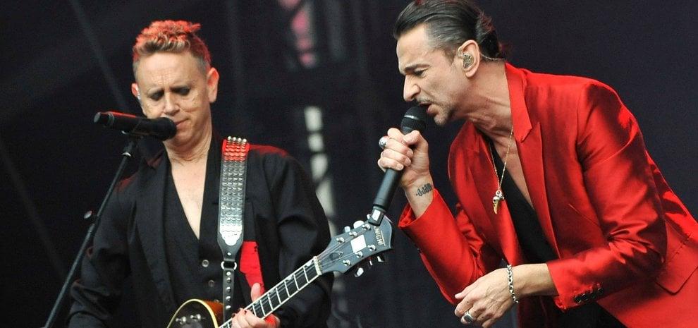 Ludovico Einaudi a Milano, Depeche Mode nei palasport