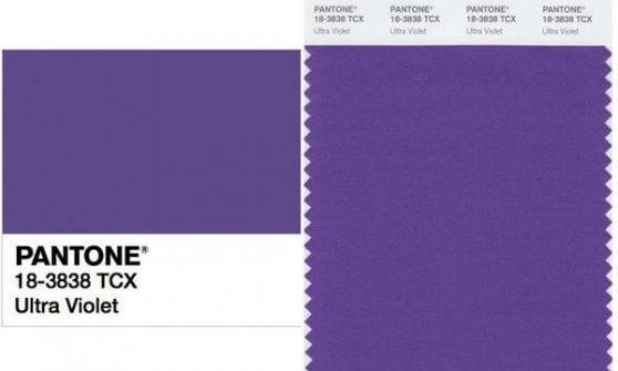 Vestiremo Ultra Violet: è il colore Pantone del 2018
