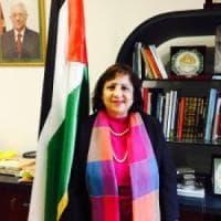 """L'ambasciatrice di Palestina: """"Italia riconosca stato palestinese e sua capitale,..."""