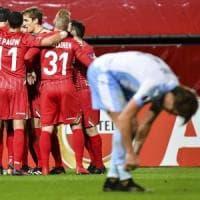 Zulte Waregem-Lazio 3-2, per i biancocelesti sconfitta indolore