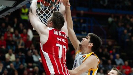 Basket, Eurolega: Milano cade sotto i colpi di Shved, il Khimki passa al Forum