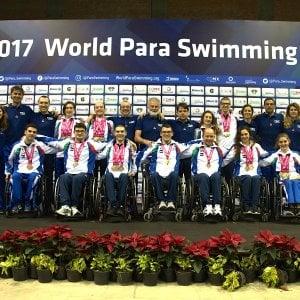 Nuoto, mondiali paralimpici: storica Italia, terza nel medagliere finale