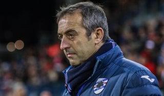 """Sampdoria, Giampaolo: """"Risultato giusto, ma abbiamo fatto tutto noi"""""""