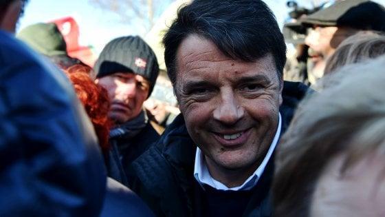 """Renzi """"Non faremo il governo con Berlusconi. Grasso e Boldrini sulle orme di Fini"""""""