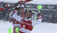 Hirscher vince lo slalom  in Val d'Isere, Gross è sesto