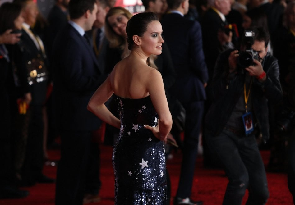 'Star Wars: gli ultimi Jedi', la prima a Hollywood: l'omaggio è tutto per la 'principessa' Carrie Fisher