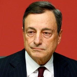 Mario Draghi, governatore Bce