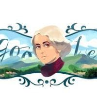 Un doodle per celebrare Grazia Deledda: 91 anni fa la scrittrice vinse il Nobel per la...