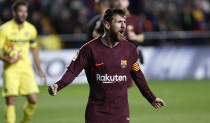 Il Barcellona mantiene le distanze Passa a Villarreal, Messi da record