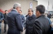 Il Vice Primo Ministro cinese Ma Kai in visita alla Pininfarina