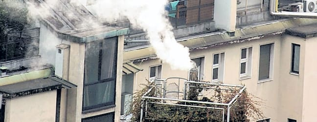 È in calo l'inquinamento che viene da auto e fabbriche riscaldamento, caso aperto