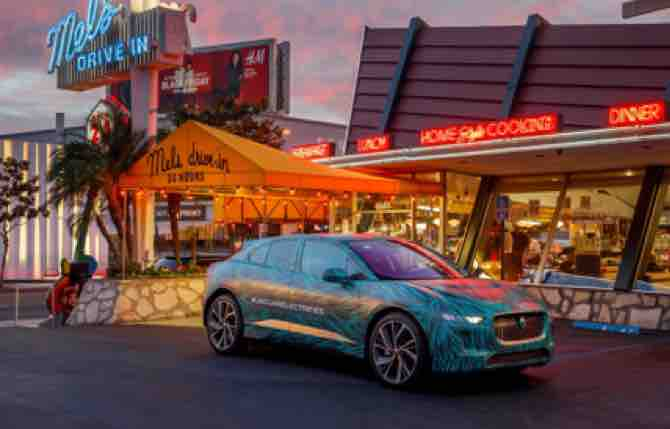 Jaguar I-Pace, autonomia da record
