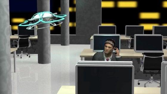 Giappone, un drone manda a casa i dipendenti che lavorano troppo