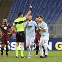 Lazio-Torino 1-3: festa granata, biancocelesti furiosi con l'arbitro