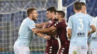 Lazio sconfitta e arrabbiata:Toro vince 1-3 Le pagelle