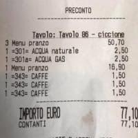 """""""Ciccione"""" sullo scontrino del ristorante, la denuncia di Elisa diventa un caso. E il..."""