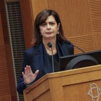 """Boldrini ritarda la discesa in campo: """"Mantengo profilo istituzionale fino all'ok alla..."""