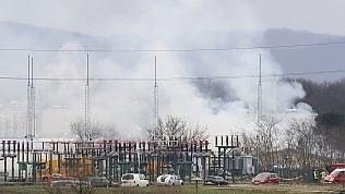 Esplode impianto di gas in Austria. Interrotto per alcune ore flusso verso l'Italia video foto