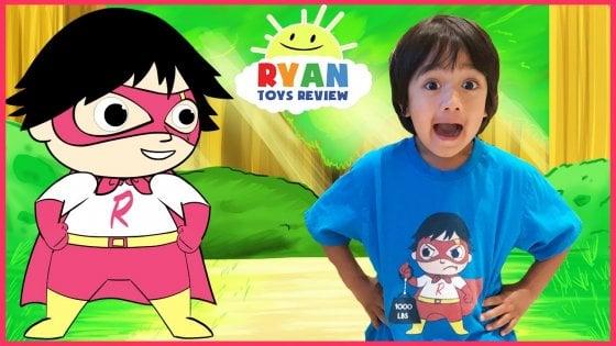 Ryan: il bimbo di 6 anni che ha guadagnato 11 milioni di dollari recensendo giochi su YouTube