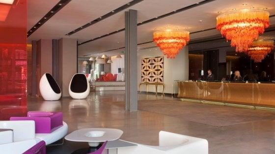 Un hotel di Milano con vista sul design