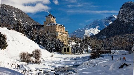 Emozioni natalizie d'alta quota sulla neve dell'Engadina