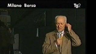 È morto Everardo Dalla Noce,  voce storica Rai dalla Borsa video