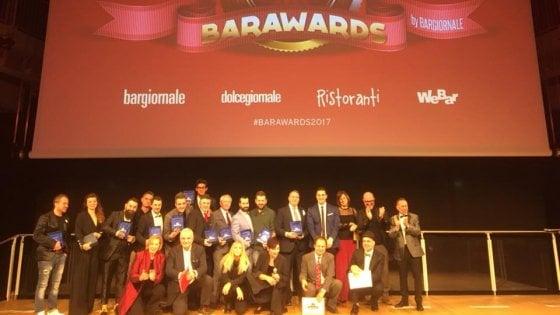 Barman, chef e pasticcieri: ecco i migliori del 2017 secondo il Barawards