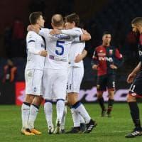 Genoa-Atalanta 1-2, Ilicic e Masiello riportano i nerazzurri in zona Europa