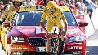 Chris Froome positivo durante la Vuelta