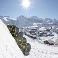 Svizzera. La fotostoria della funicolare di Stoos