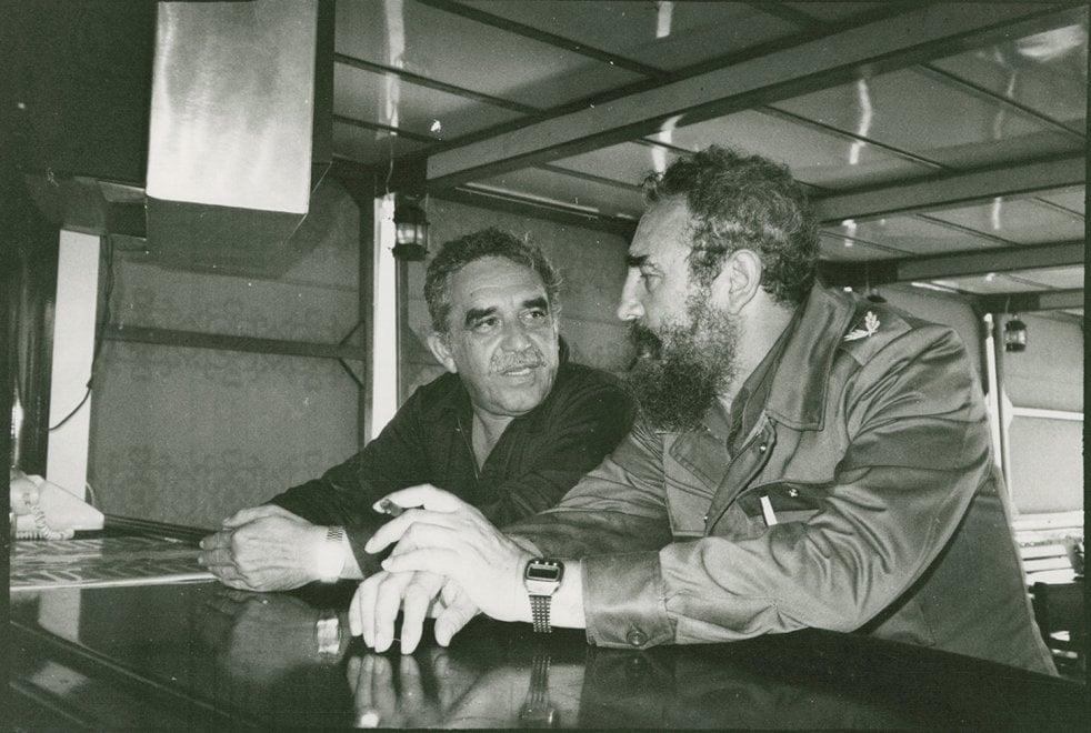 Foto, bozze e lettere: l'archivio di Márquez in Rete