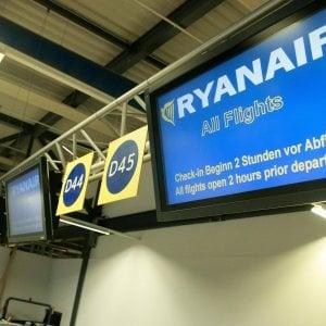 Il governo contro Ryanair: Le minacce ai piloti sono atto indegno