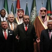 Turchia, al via summit con paesi islamici. Erdogan: