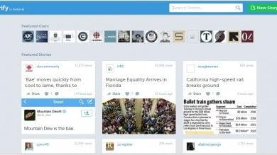 Storify, chiude la piattaforma per il social journalism
