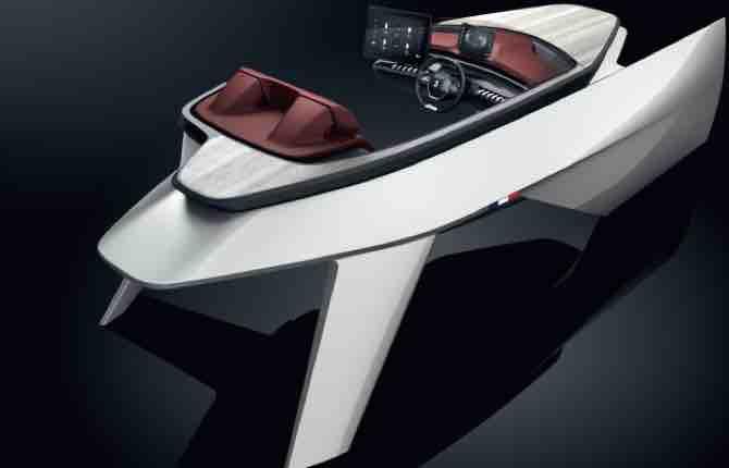 Peugeot i-Cockpit, dalla strada alla nautica
