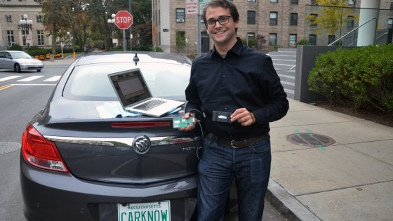 """Joshua Siegel, il mio meccanico è un'app: """"Registra i rumori dell'auto e trova il guasto''"""