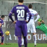 Fiorentina-Sampdoria 3-2: Veretout trascina i viola ai quarti